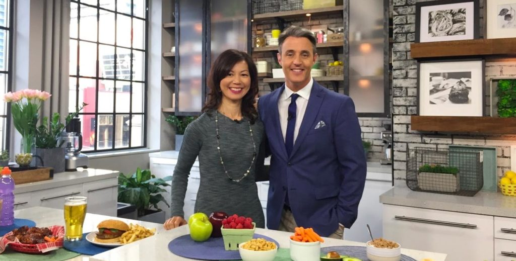 Sue Mah and Ben Mulroney